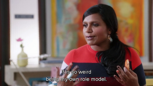 words to live by: mindy kaling.